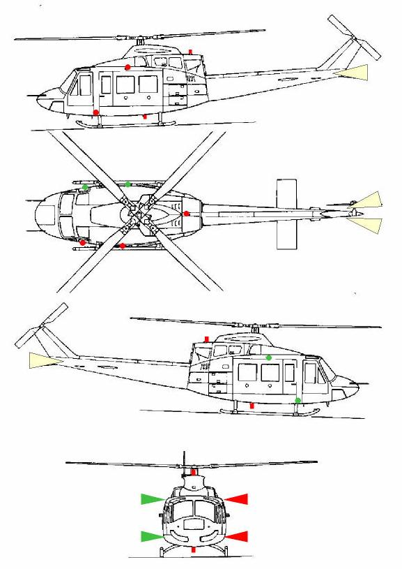 helicopter leds